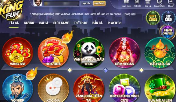Hình ảnh king full apk in Tải kingfun apk mới nhất - Cổng game king fun cho Android