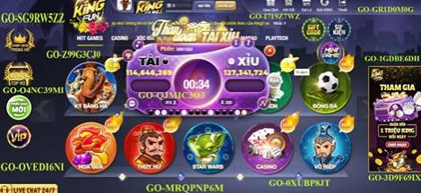 Hình ảnh king fun club in Tải kingfun về latop - Cập nhật king.fun pc mới nhất